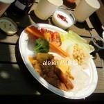 11)カレーのお皿